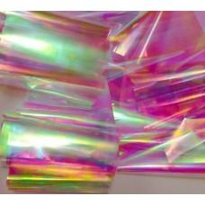 """Арт фолио """"Начупени стъкла"""" розово"""