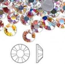 Swarovski 100pcs дек. камъни хамелеон кристал /Iridescent/ss5-1,7мм.