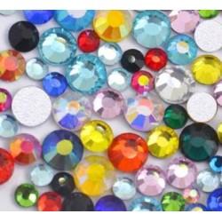 Цветни кристални и хамелеонови камъчета (49)