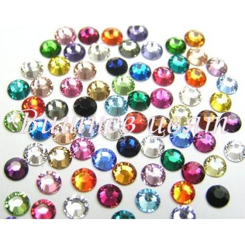 Swarovski дек. камъни кристал /MIX/ss3-1,3мм.