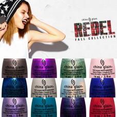 China Glaze® Rebel 2016 есенна колекция 12 цвята