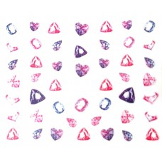 "Стикер за нокти ""Crystal Diamonds""-513"