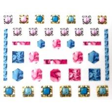 "Стикер за нокти ""Crystal Diamonds""-517"