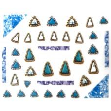 "Стикер за нокти ""Crystal Diamonds""-518"
