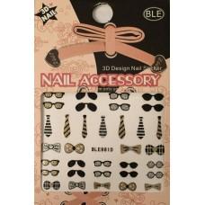 3D лепенки Moustache 981