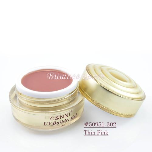 Гел за изграждане-Thin Pink 302 - 15мл.