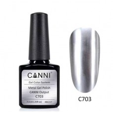 Metal gel polish-хром ефект C703