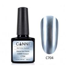 Metal gel polish-хром ефект C704
