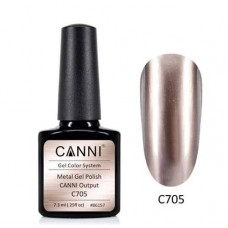 Metal gel polish-хром ефект C705