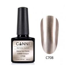 Metal gel polish-хром ефект C708