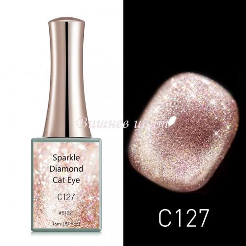 Sparkle Diamond – Cat Eye c127 – 16 ml