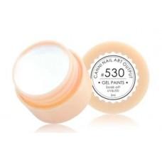 Гелова боя UV&LED плътно бял 530-5мл.