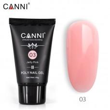 Poly Gel Nail II Jelly Pink 03-ново поколение поли гел 45гр.