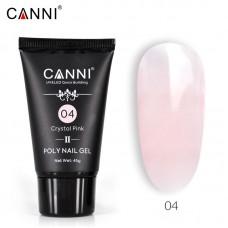 Poly Gel Nail II Crystal Pink 04-ново поколение поли гел 45гр.