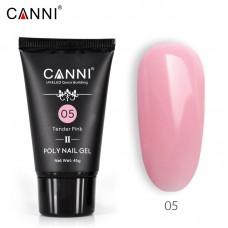 Poly Gel Nail II Tender Pink 05-ново поколение поли гел 45гр.