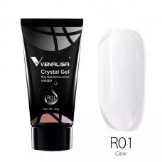 NEW Crystal Poly gel 30gr. UV/LED - R01