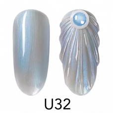 Седефена гел боичка Seashell Color Gel - U32