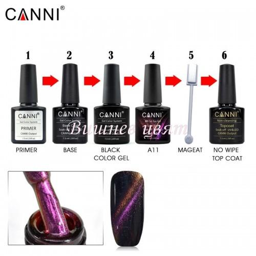 Комплект за гел лак CANNI 4
