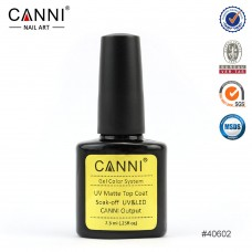 Canni Matte Top coat-матиращ топ лак
