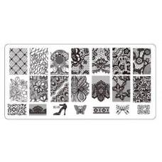 Шаблон за нокти BC-09